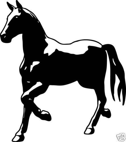 HORSE Window Sticker Trailer Car Decal Equestrian 6
