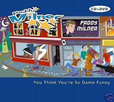 PADDY MILNER You Think You're So Damn (cd+dvd) Neu